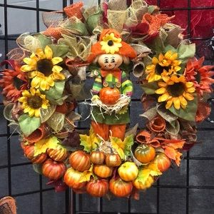 Other - Decorative fall wreath